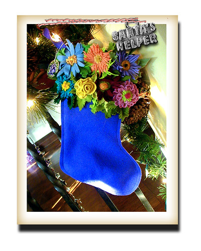 flower stocking