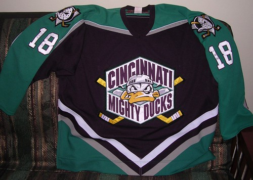 Jersey  Cincinnati Mighty Ducks GW 3638c4ba05b1