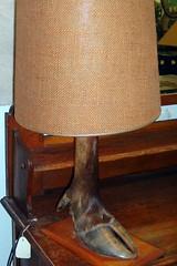 Moose Leg Lamp