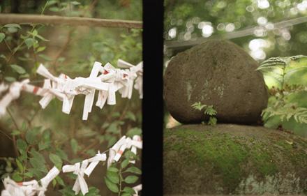 神社の風景