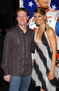 Dale Earnhardt Jr. and Courtney Hansen