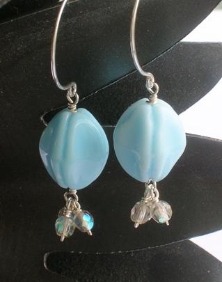 Autumn Dew earrings