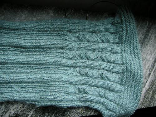 left sleeve of colchique jumper