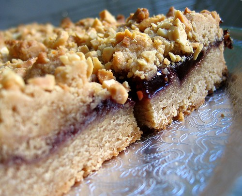 alpineberry: Peanut Butter and Jelly Bars