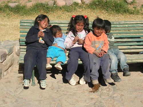 Kids in Uquia