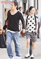China celebrity couple, Zhou Xun and Daqi