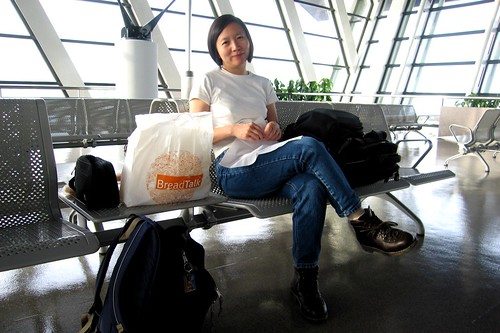 Sun-Ling @ Shanghai Pudong Airport (PVG) - 2006