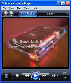 NoGeekLeftBehind Video Blog - Now in WMV format!