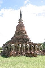Budda and Temples  in Sukhothai 03