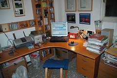 La mia scrivania - My Desktop