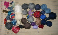 Remaining Sock Yarn Scraps