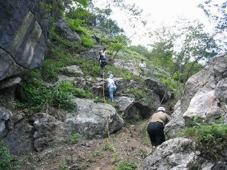 攀岩(climb)