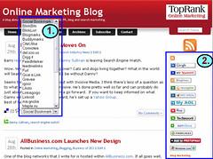 Screen Shot of 2 New Social Media Optimization Tools