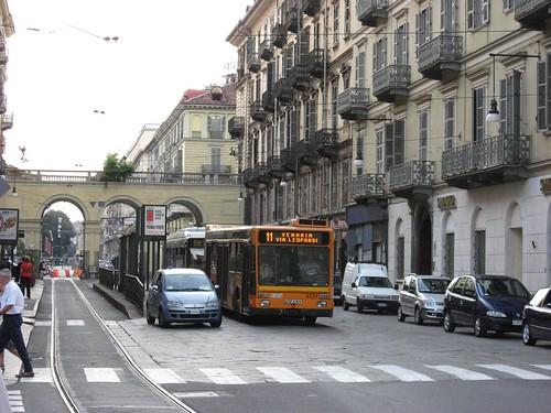 Turin, Italy Street Scene