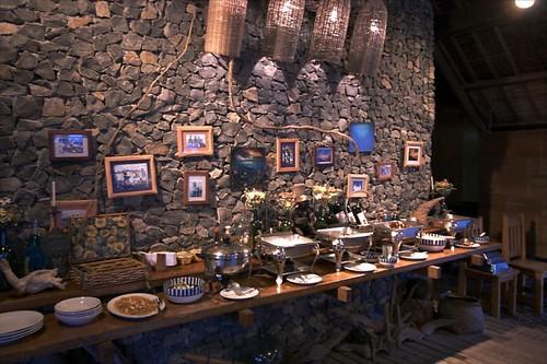 Balai精心布置的用餐地點,或許不是最豪華的,但卻是很窩心的小巧可愛