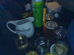 Macallen + green tea = hurhurhur~!!