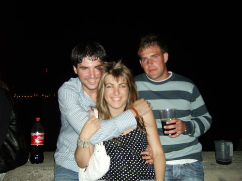 Miriam, Nacho y yo