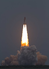 Space Shuttle Atlantis Liftoff STS-135 photo by Cameralabs