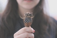 204/365 owl owl photo by Honey Pie!