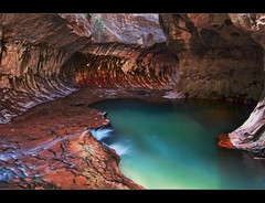 The Subway, Zion National Park photo by Matt Kawashima