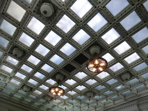 Ceiling of the Senate chamber