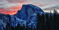 Half Dome at Dawn - Explored 6/28/2011 photo by Dave Toussaint (www.photographersnature.com)