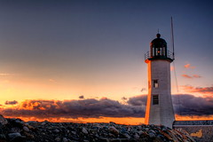 Scituate Harbor Light photo by DeadDogsEye