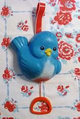 Vintage Fisher Price Bluebird Music Box Crib Toy photo by MissConduct*