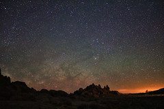 The Surreal Milky Way over Alabama Hills photo by Dave Toussaint (www.photographersnature.com)