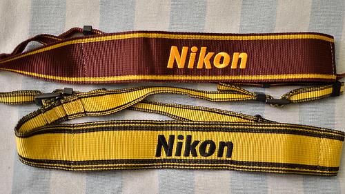 Nikon neck strap AN-6W AN-6Y