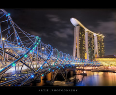 The DNA of Marina Bay Sands Singapore :: HDR photo by :: Artie | Photography ::
