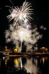 Sparkle - fireworks at Lions Field photo by Derek Lyons