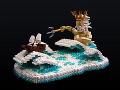 Poseidon Float photo by Legohaulic