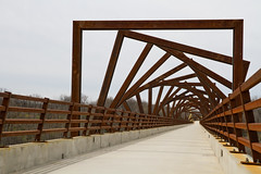 High Trestle Trail Bridge Artwork photo by w4nd3rl0st (InspiredinDesMoines)