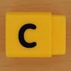 Pushfit cube letter C