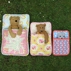 Sleeping bags for bears photo by flossieteacakes