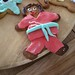 Karate Gingerbread Person