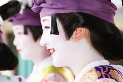 祇園祭花笠巡(祇園東)-1 photo by nobuflickr