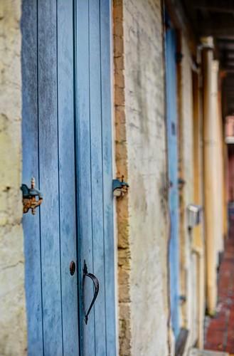 Doors off Bourbon Street