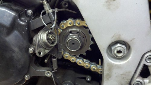 sv650 sprocket and chain swap