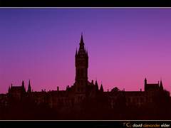 University Dawns Digital Art by David Alexander Elder photo by David Alexander Elder