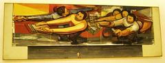 Mexico City - Museo Soumaya - Sketch for 3D Mural on UNAM CU Campus Rectory by David Alfaro Siqueiros photo by ramalama_22