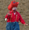 70411-086-Brush Rodeo Clown