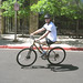 Heath Calhoun Riding A Bike