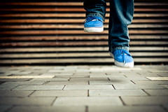 blue shoes photo by baaasti