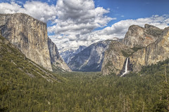 Yosemite Valley photo by x-ray tech
