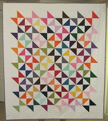 Kona hourglas quilt front photo by Sew-Fantastic