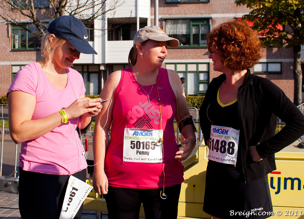 The Girls Before the Race
