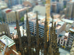 Miniature Sagrada Familia Construction photo by Photo Dean