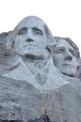 Mount Rushmore Washington Jefferson Closeup * photo by wellscenephotography (ON)